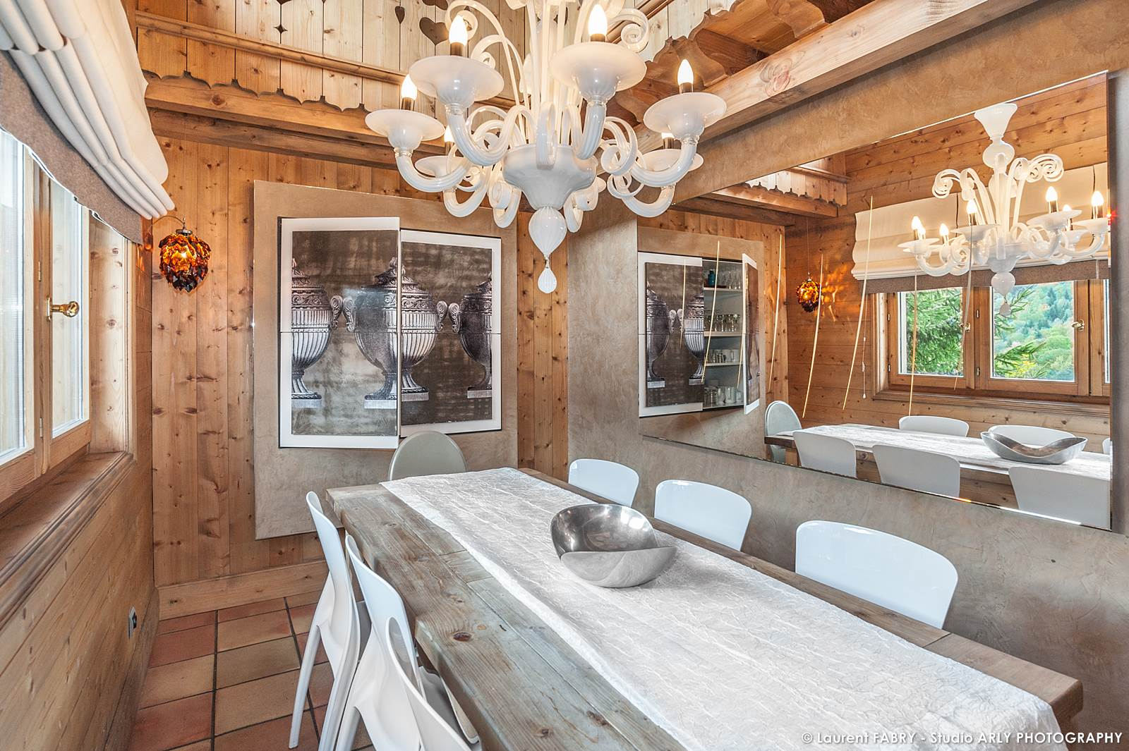 Photographe Chalets De Montagne à Méribel (3 Vallées) : Salle à Manger