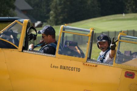 Photographe Tourisme Sur Un Meeting Aérien : Départ En Avion