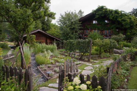 Photographe D'hôtel à Megève : Les Jardins Potager Des Fermes De Marie, Ensemble De Chalets De Luxe 5 étoiles (famille Sibuet)