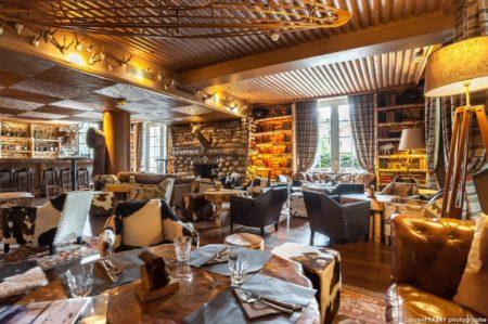 Photographe Hôtellerie à Megève : Le Bar Du Lodge Park, Hôtel 4 étoiles