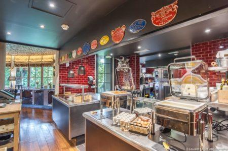 Photographe Hôtel Megève : Un Des Restaurants Du Lodge Park, Hôtel 4 étoiles à Megève