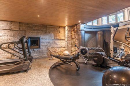 Photographe Hôtel Megève : Centre De Fitness Du Lodge Park, Hôtel 4 étoiles