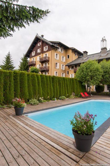 Photographe Hôtel Megève : Piscine Extérieure Du Lodge Park, Hôtel 4 étoiles De Megève