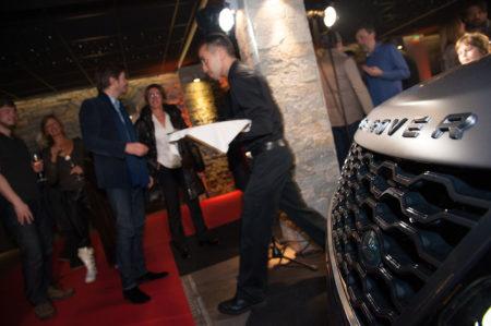 Photographe événementiel à Courchevel : Dans Le Garage De L'hôtel Lana