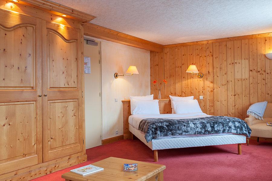 Photographe d'hôtel en Beaufortain : une photo d'une suite