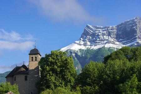 Photographe Patrimoine Et Traditions Dans Les Alpes : Chapelle Saint-Maurice Sous La Dent D'Arclusaz