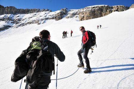 Photographe Outdoor Dans Les Alpes : Sous La Pointe De La Réchasse
