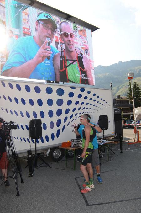 Photographe De Trail Running En Suisse : Interview D'un Coureur à L'arrivée Du TVSB