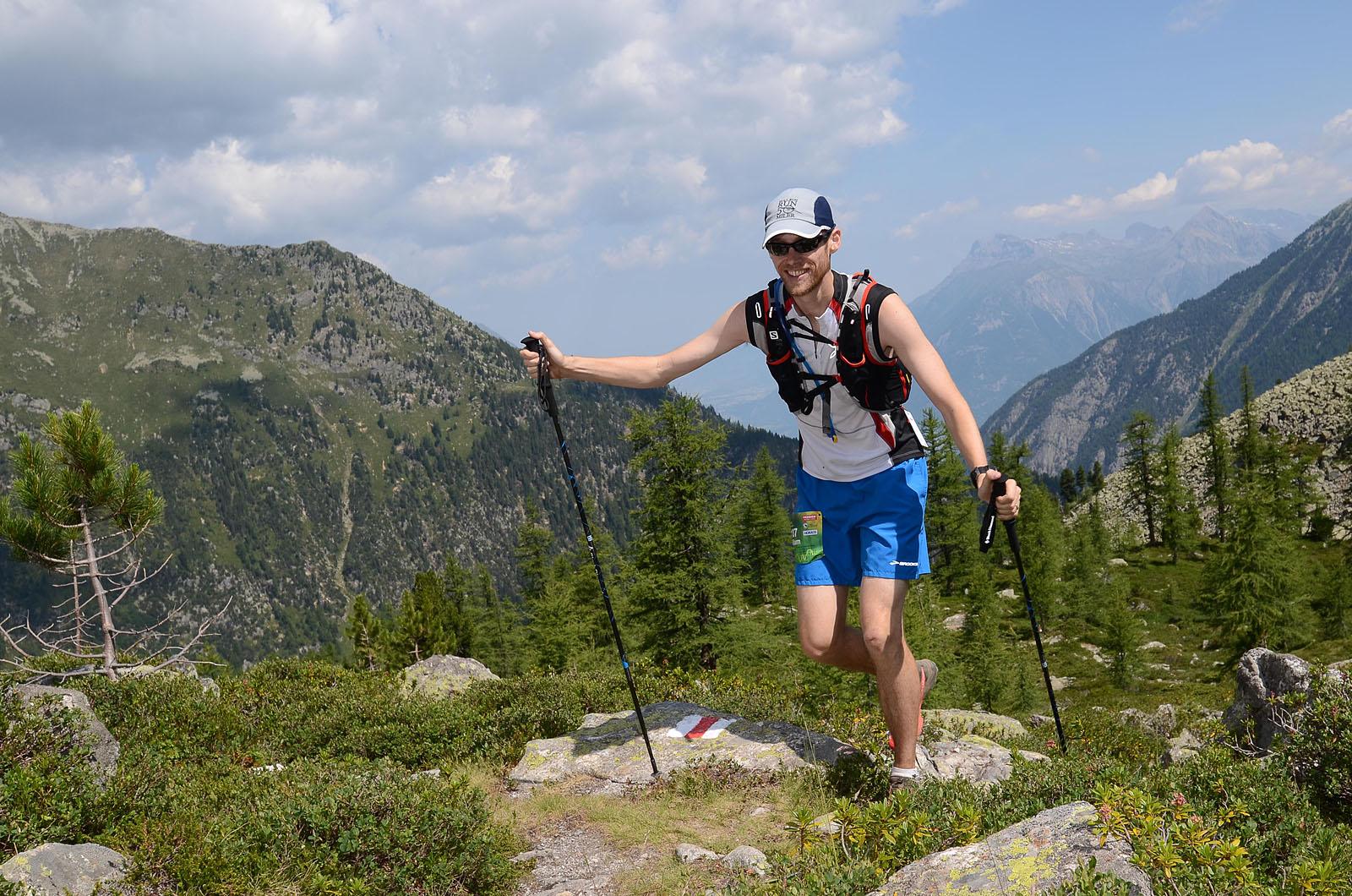 Photographe De Trail Running En Suisse