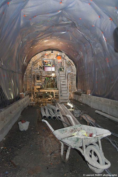 Photographe Industriel En Auvergne Rhône Alpes : Le Chantier Du Tunnel Du Siaix