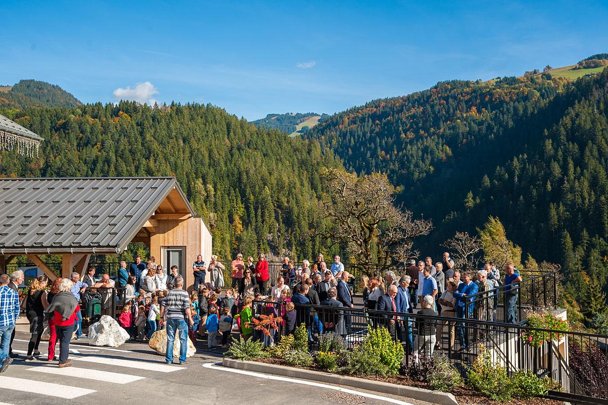 Photographe Architecture En Savoie Pour Une Collectivité : Inauguration Du Bâtiment Communal
