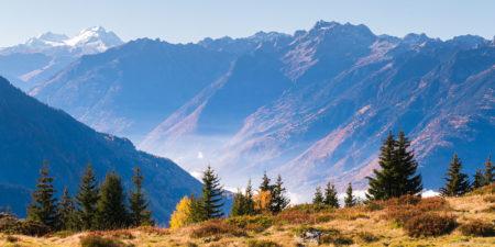 Photographe En Décoration De Bureaux Dans Les Alpes : La Maurienne Depuis Montsapey
