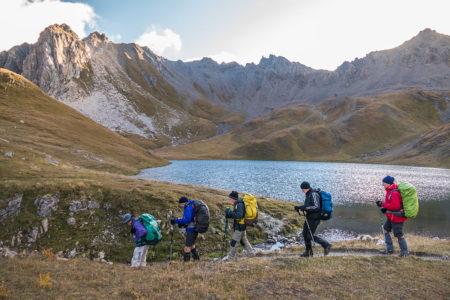 Photographe Sport De Montagne Outdoor En Vanoise : Lac Près Du Refuge Du Palet