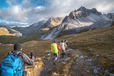 Photographe Sport De Montagne Outdoor En Vanoise : Randonnée Itinérante