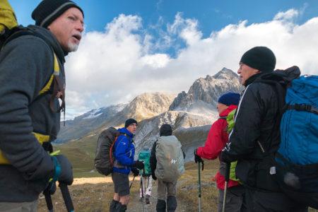 Photographe Sport De Montagne Outdoor En Vanoise : Départ Au Petit Matin
