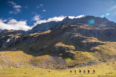 Photographe Sport De Montagne Outdoor En Vanoise : En Direction Du Vallon De Rosuel