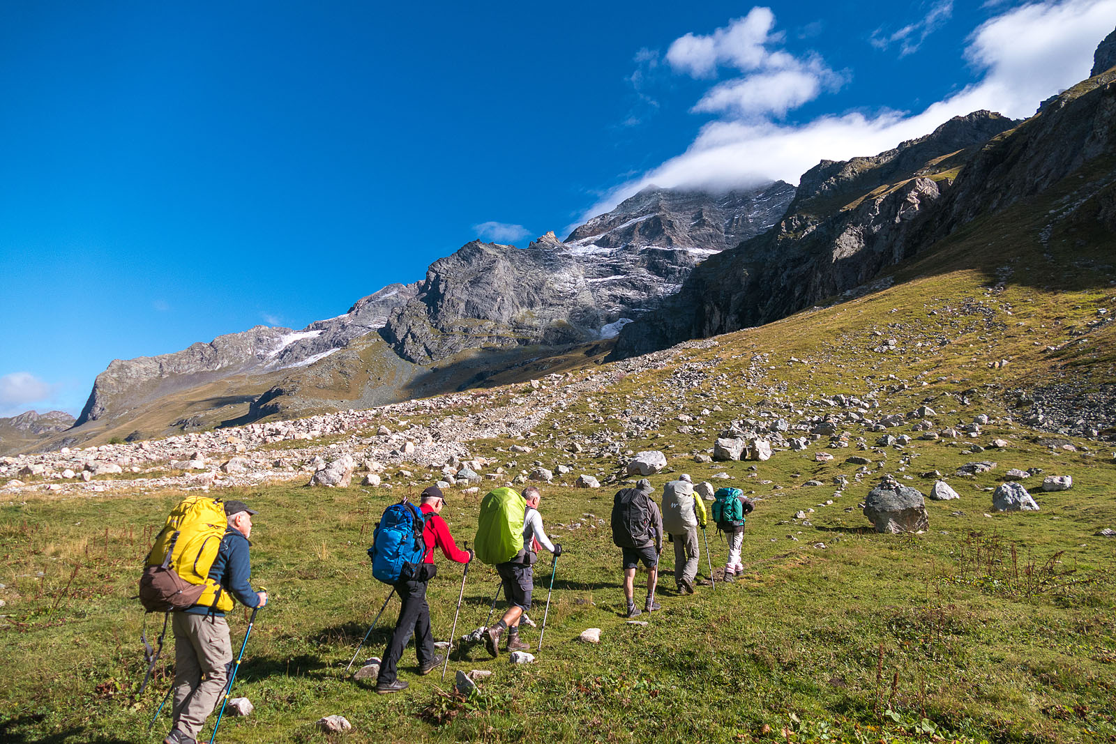 Photographe Sport De Montagne Outdoor En Vanoise