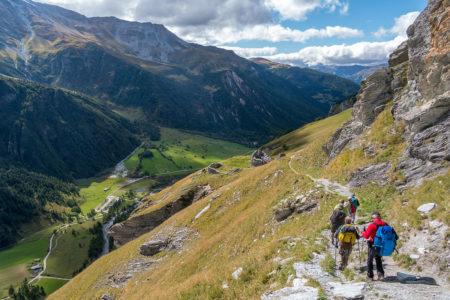 Photographe Sport De Montagne Outdoor En Vanoise : En Descendant Du Refuge Du Pourri