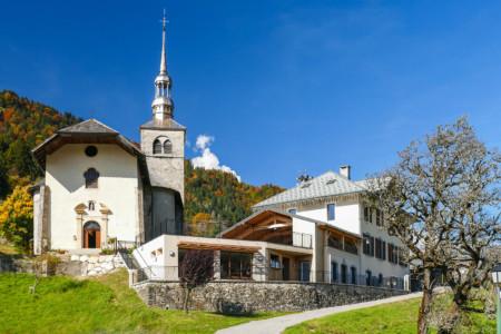 Photographe Architecture En Savoie Pour Une Collectivité : Le Village De Saint-Nicolas-la-Chappelle, En Val D'Arly