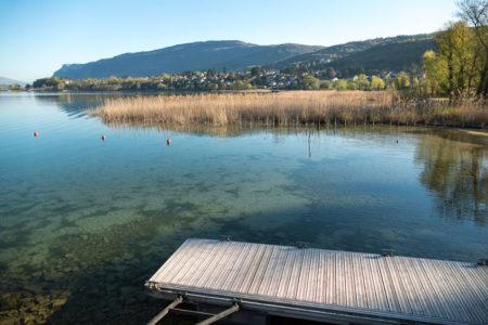 Photographe Urbanisme Pour Une Collectivité Dans Les Alpes (Aix-les-Bains) : La Baie De Memard Sur Le Lac Du Bourget