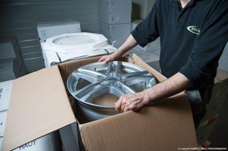 Photographe Industrie Automobile, Logisticien Du Pneu En Pays De Savoie