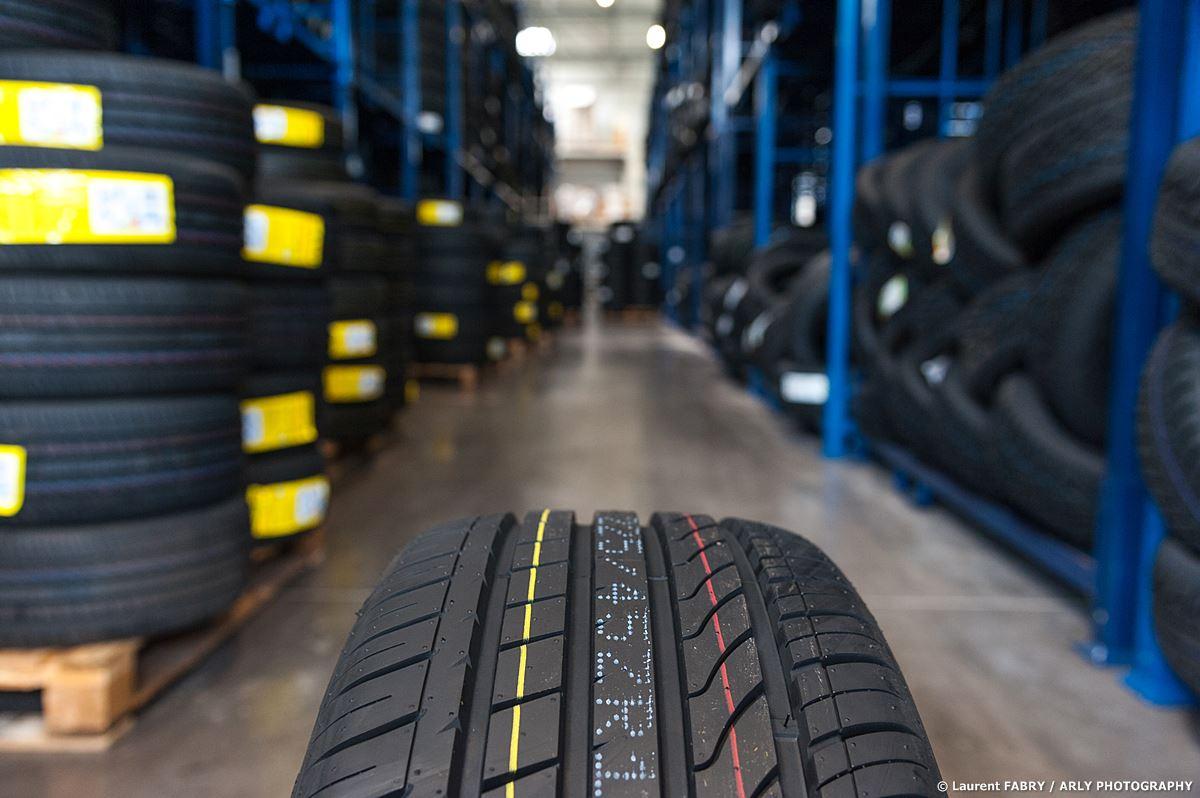 photographe industriel en Savoie, chez un spécialiste du pneu