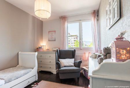 Photographe Immobilier Pour Un Appartement à Chambéry : La Chambre Enfant