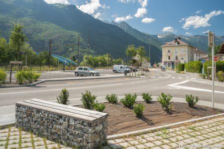 Parvis De La Gare De Saint-Avre (Savoie), Réalisation EVS : Photographe Professionnel En Reportage