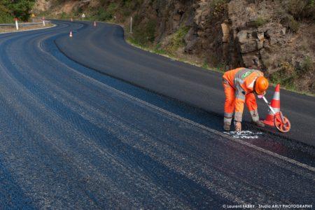 Reportage Photographe Professionnel BTP Rhône-Alpes : Colas
