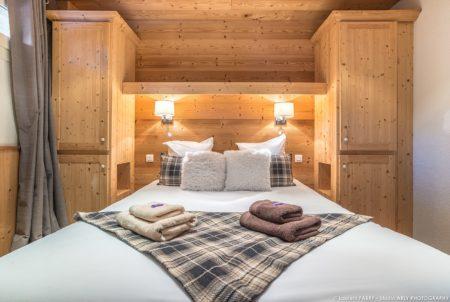 Photographe Hôtel Vallée Des Belleville : La Chambre D'une Suite