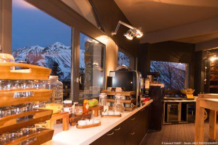 Photographe Hôtel 3 Vallées : Le Buffet Du Petit Déjeuner