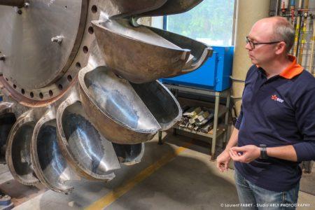 Photographe Industriel Professionnel : Présentation Des Roues Pelton Au SRH EDF D'Albertville