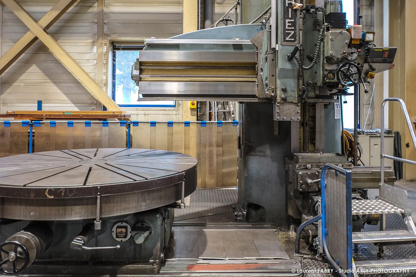 Photographe industriel professionnel : atelier SRH EDF d'Albertville