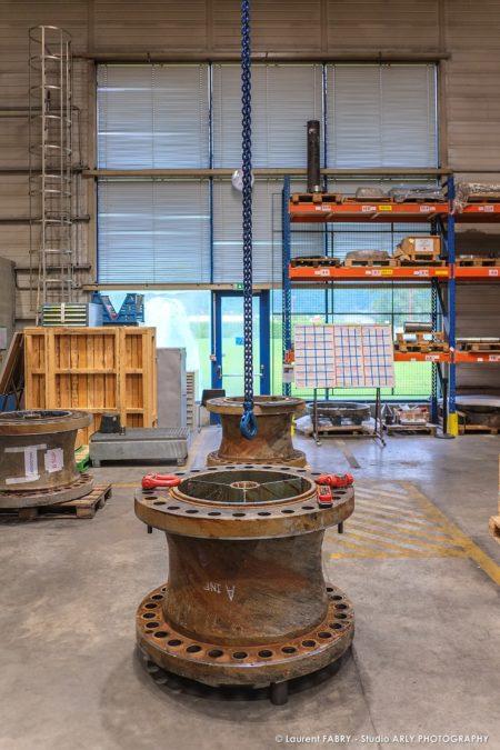 Photographe Industriel Professionnel : Entretien Des Axes De Turbines Au SRH EDF D'Albertville