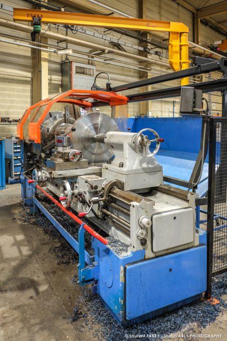 Photographe Industriel Professionnel : Machine-outil Au SRH EDF D'Albertville
