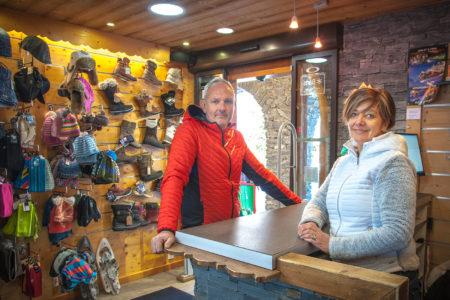 Photographe Magasin De Ski Dans Les Alpes (73) : Portrait Des Commerçants