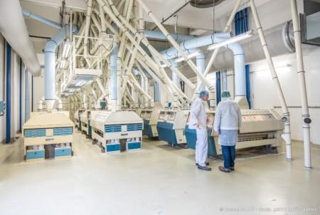 Photographe Industrie Agroalimentaire En Savoie (73) : Un Des étages De La Meunerie