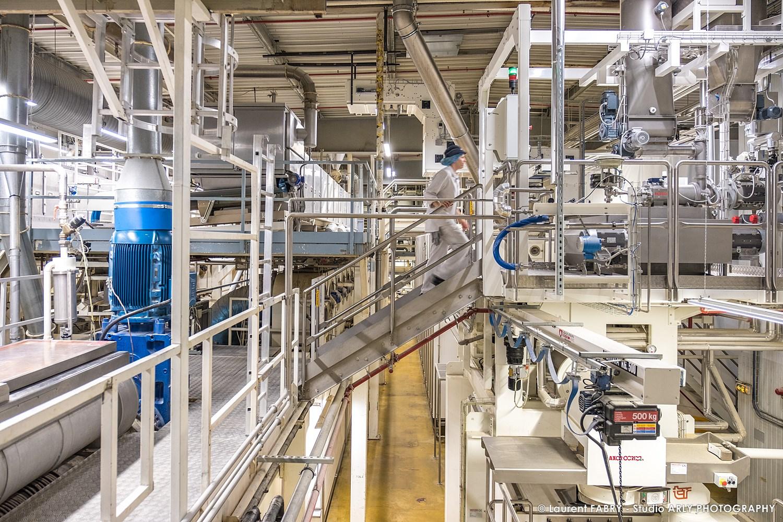 Reportage Photo Industrie Agroalimentaire à Chambéry (73) : Ligne De Fabrication Des Pâtes