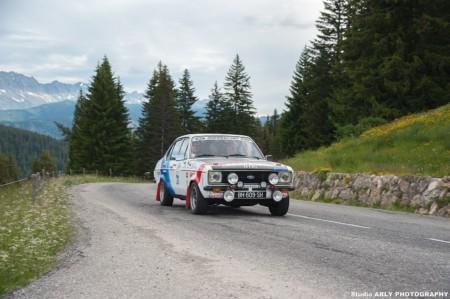 Reportage Photo Professionnel Rallye Automobile Dans Les Alpes