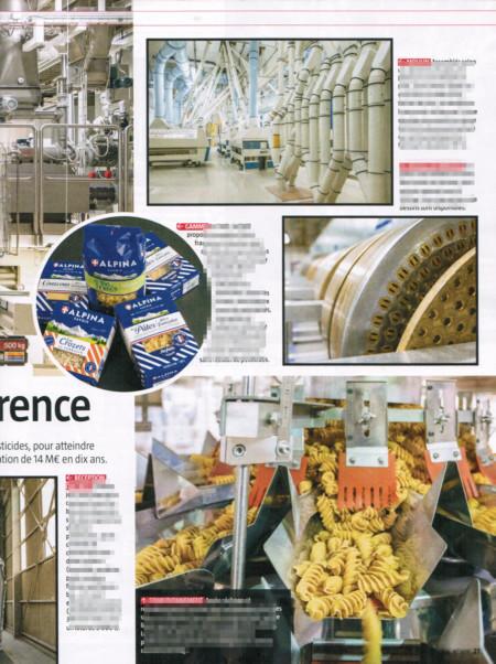 Coupure De Presse RIA N° 809 Mars 2019 : Alpina Savoie Cultive Sa Différence