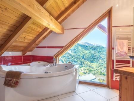 Photographe Immobilier De Montagne : Salle De Bain De La Chambre Principale