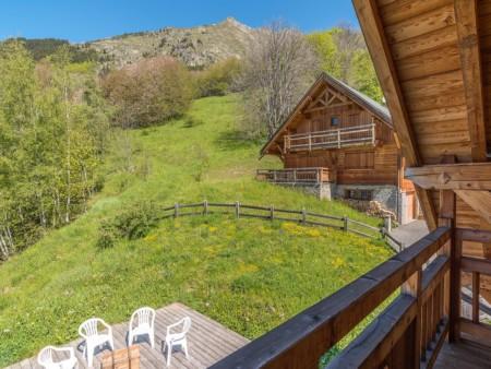 Photographe Immobilier De Montagne : Balcon, Avec Vue Montagne