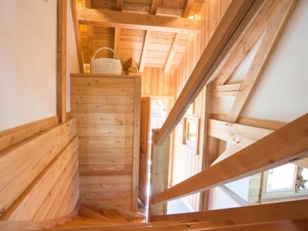 Photographe Immobilier De Montagne : Escalier