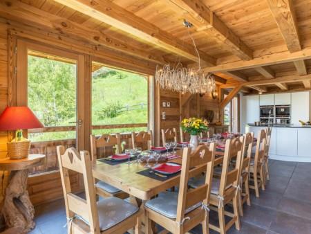 Photographe Immobilier De Montagne : Salle à Manger