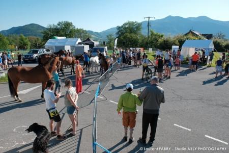 Vue Générale Du Site Lors Du Raid Multi-sport En Haute Savoie