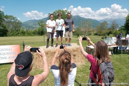 Remise Des Prix D'un Raid Multi-sports En Haute Savoie