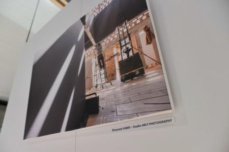 Exposition Photographe De Chantier Dans Un Centre D'art Contemporain