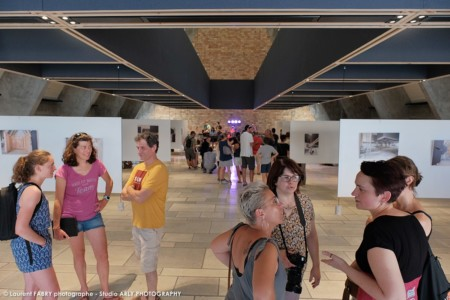 Inauguration D'un Centre D'art En Savoie, Laurent Fabry Photographe