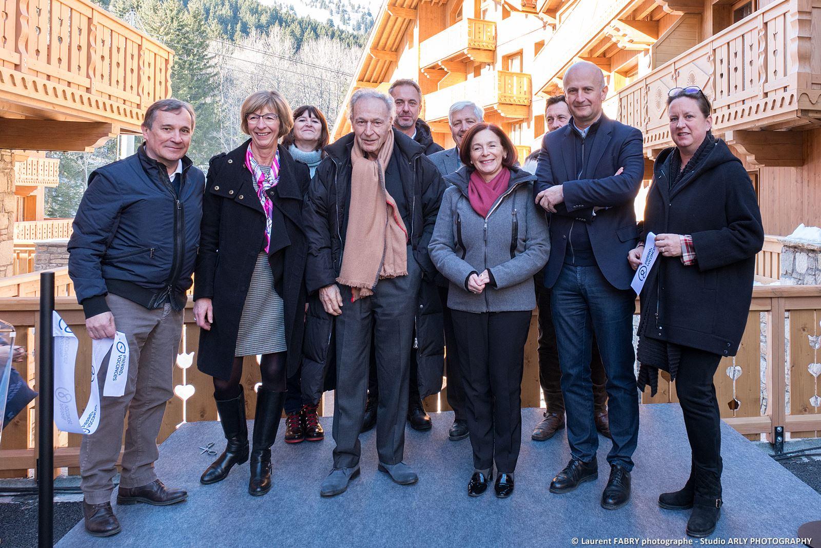 Photographe événementiel Inauguration : Résidence De Tourisme Dans Les Alpes