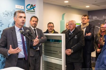 Inauguration D'agence Dans Les 3 Vallées (Saint-Martin-de-Belleville)